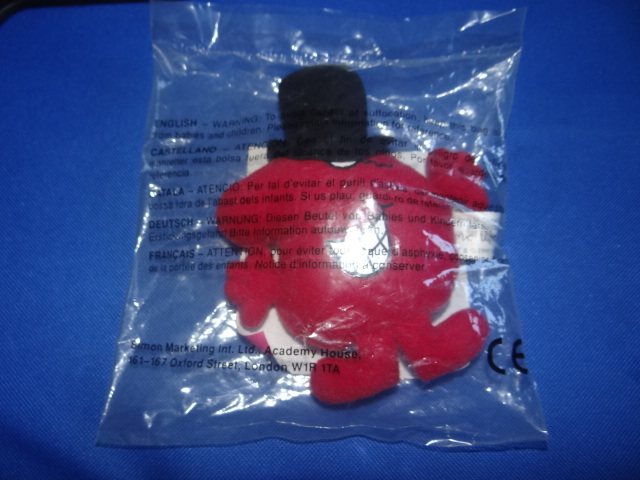 McDonalds Mr Men & Little Miss Mr Uppity Toy From 1999 New