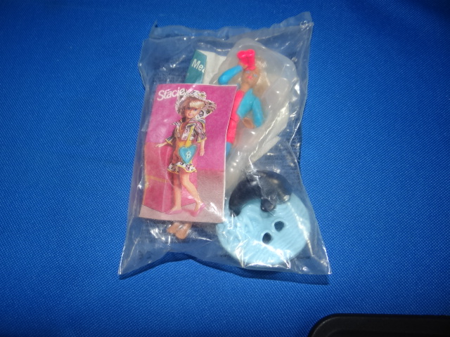 McDonalds Barbie Ocean Fun/Killer Whale Toy From 1996 New