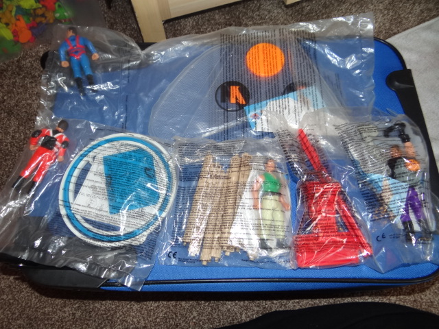 McDonalds Action Man Full Set From 2000 New