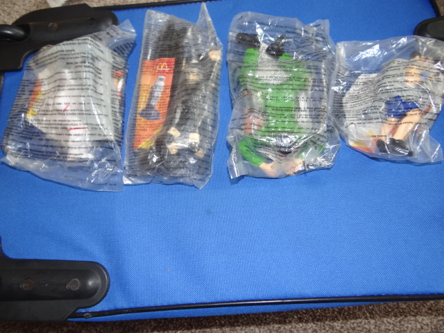 McDonalds Action Man Full Set From 1998 New