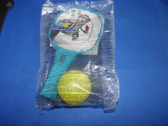 McDonalds Olympic Mascot-Athon Bat & Ball Toy From 2012 New
