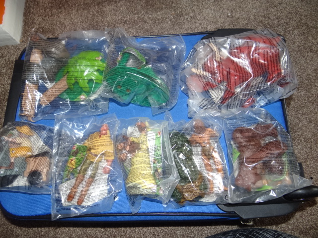 McDonalds Tarzan Full Set From 1999 New