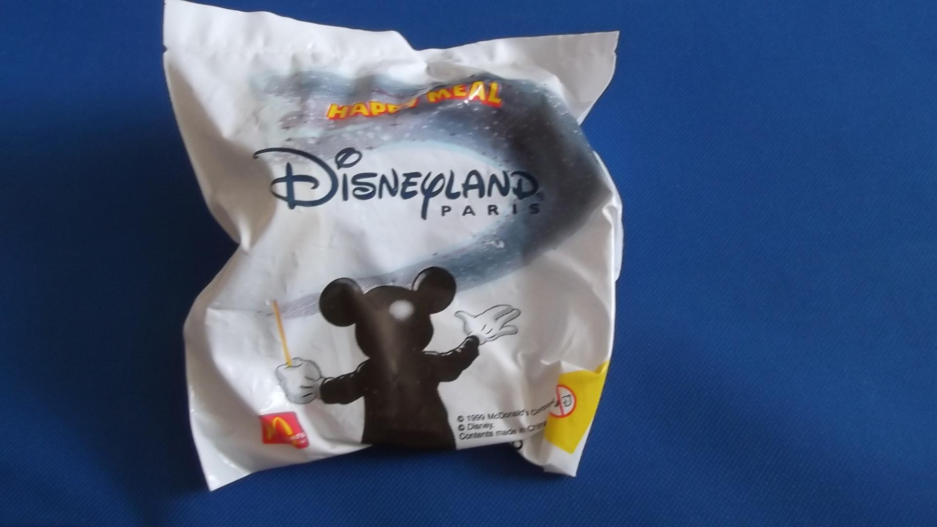 McDonalds Disneyland Paris Train #16 Toy From 1999 New
