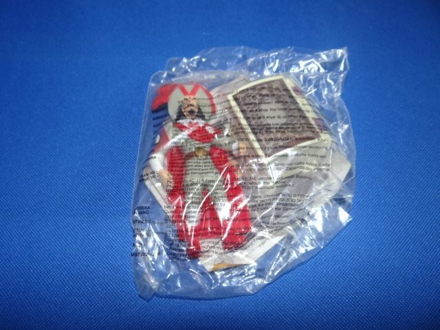 McDonalds The Adventures Of TinTin Pirate With Treasure Chest Toy From 2011 New