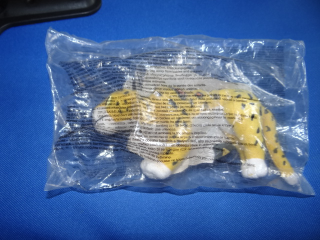 McDonalds Tarzan Cheetah Plush Toy From 2000 New