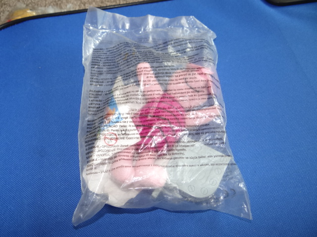 McDonalds Winnie The Pooh Science World Piglet Toy From 2002 New