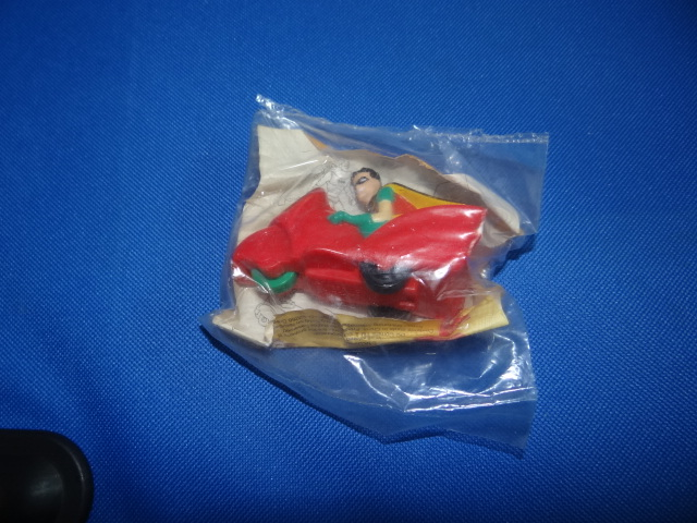 McDonalds Batman Robin Toy From 1994 New