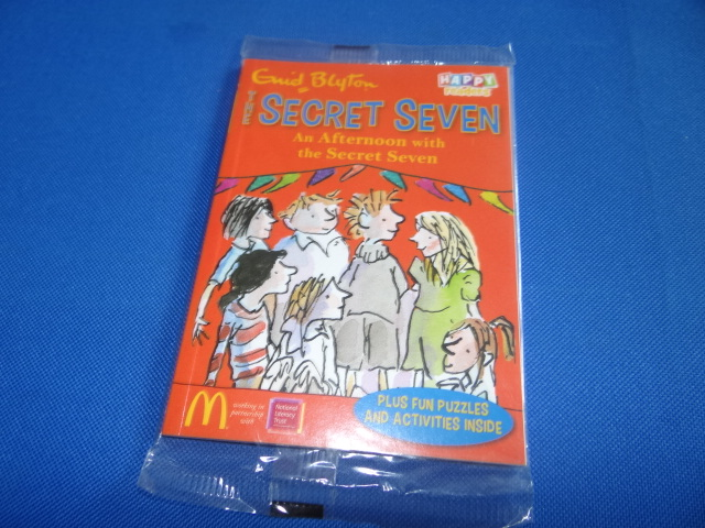 McDonalds The Secret Seven An Afternoon With The Secret Seven Book Toy From 2014 New