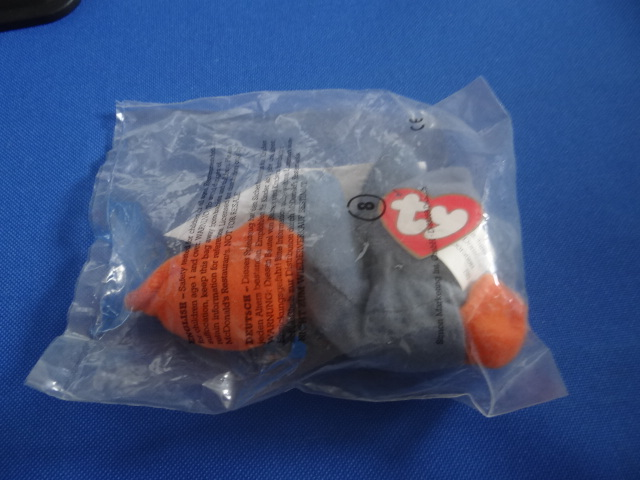 McDonalds TY Teenie Beanie Babies Scoop Toy From 1993 New