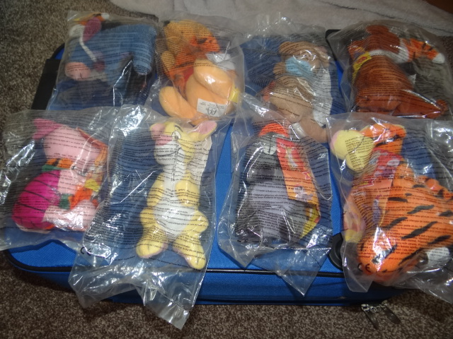 McDonalds Winnie The Pooh A Tigger Movie Full Set From 2000 New