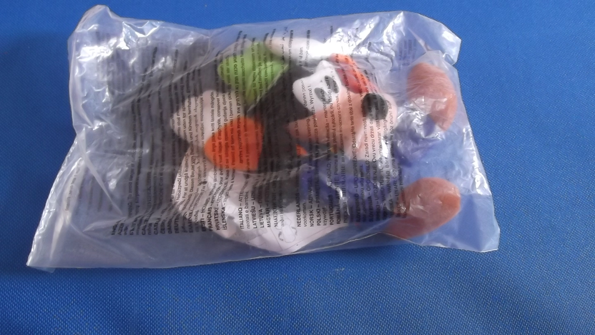 McDonalds Disneyland Paris Goofy Toy From 2001 New