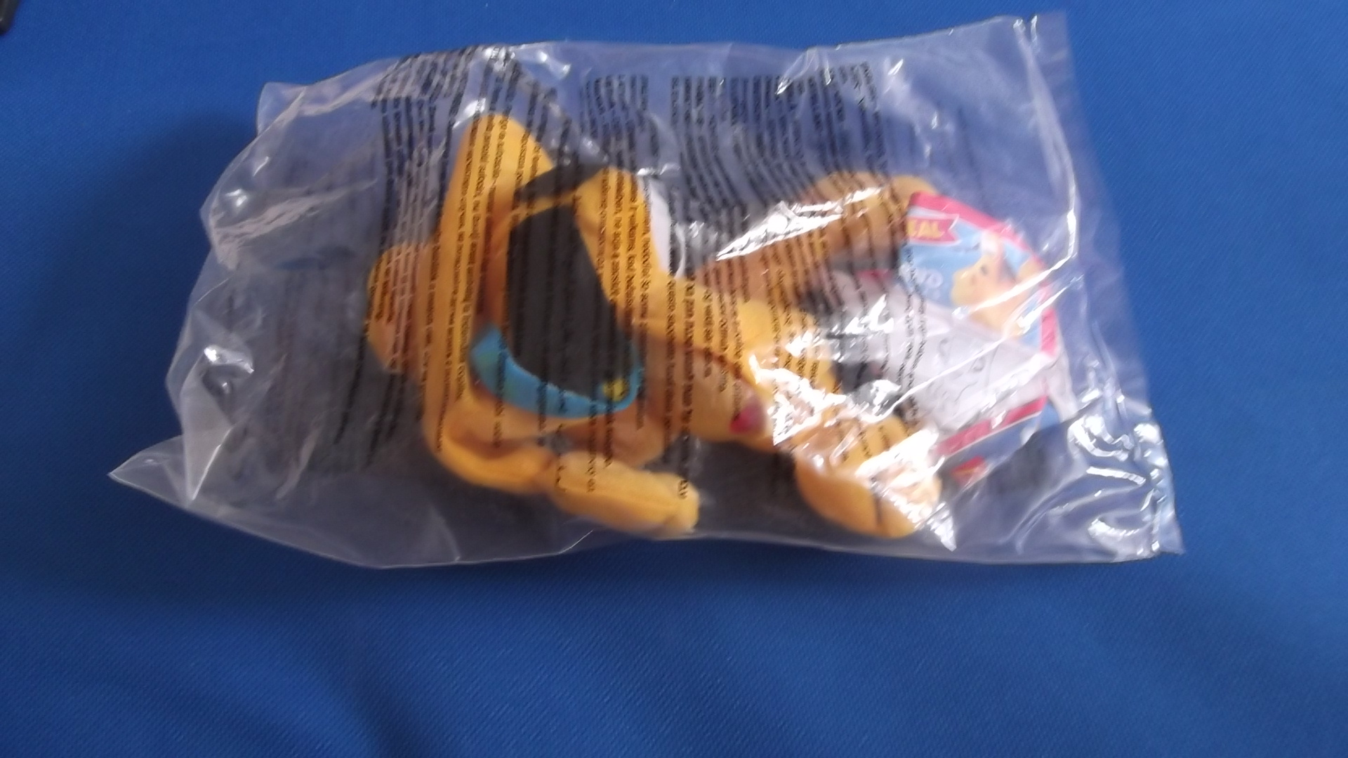 McDonalds Disneyland Paris Pluto Toy From 2001 New