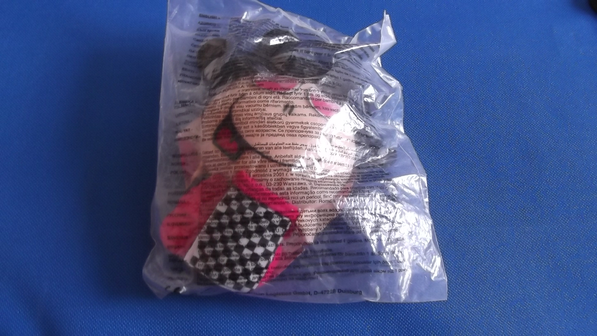 McDonalds Bubblegum Go Girl Toy From 2003 New