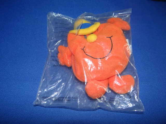 McDonalds Mr Men & Little Miss 30 Years Mr Cheerful/Little Miss Stubborn Toy From 2001 New
