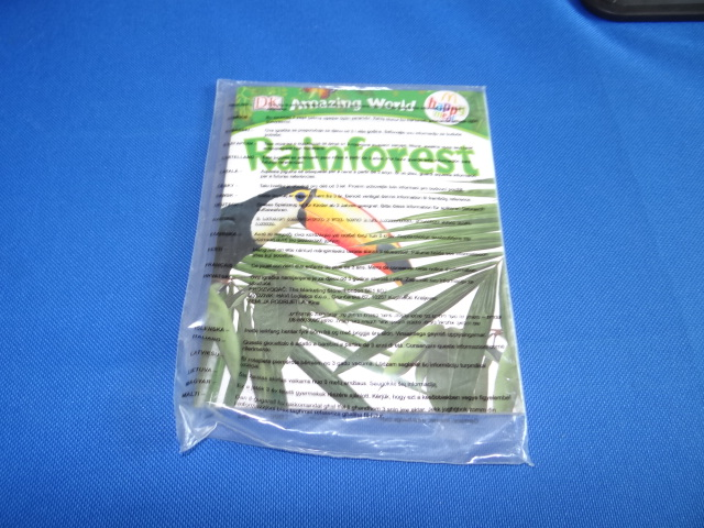 McDonalds DK Amazing World Rainforest Book Toy From 2013 New