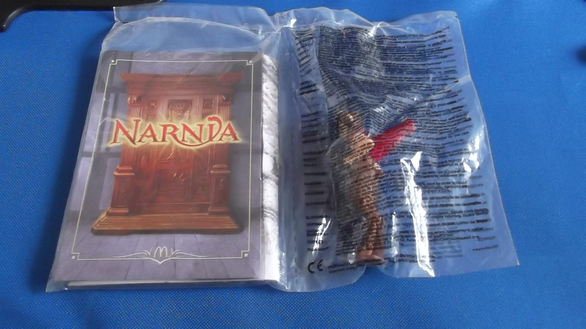 McDonalds Narnia Mr Tumnus Toy From 2005 New