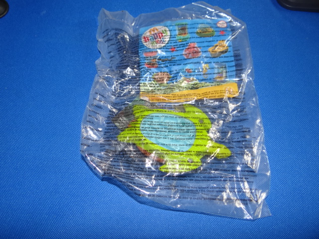 McDonalds Wonders Of The Deep Sea Turtle Toy From 2010 New