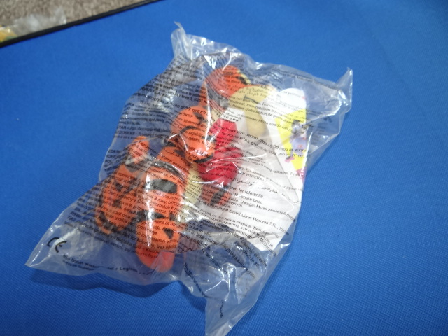 McDonalds Winnie The Pooh Science World Tigger Toy From 2002 New