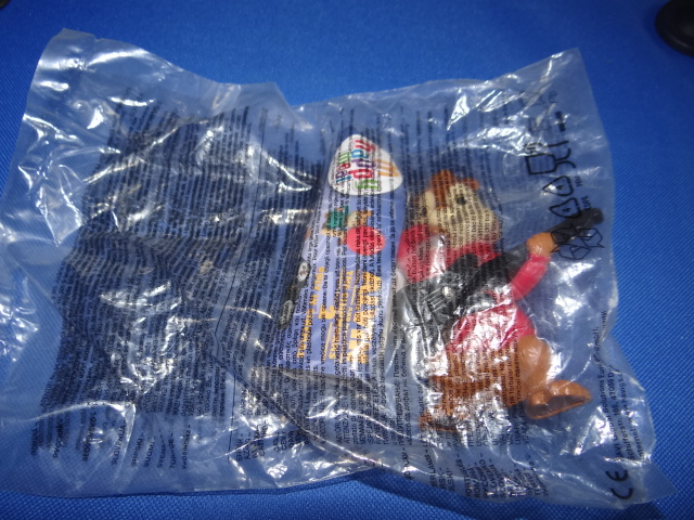 McDonalds Alvin & The Chipmunks 2 Alvin Toy From 2009 New