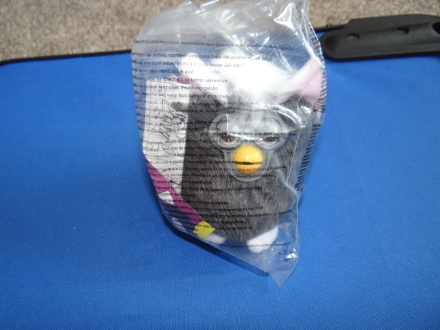 McDonalds Furby Yoo Hoo - Brown Eyes Toy From 2000 New