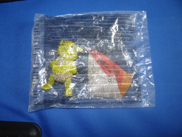 McDonalds Shrek The Third Baby Ogre Toy From 2007 New