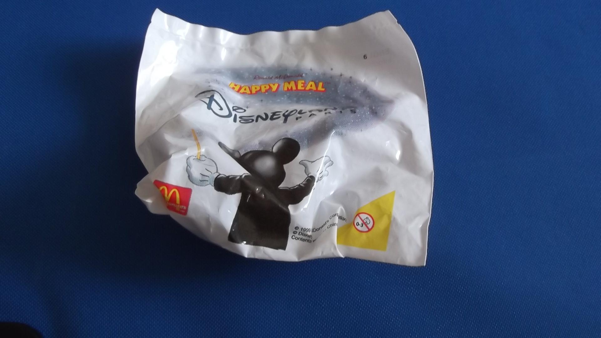 McDonalds Disneyland Paris Train #6 Toy From 1999 New