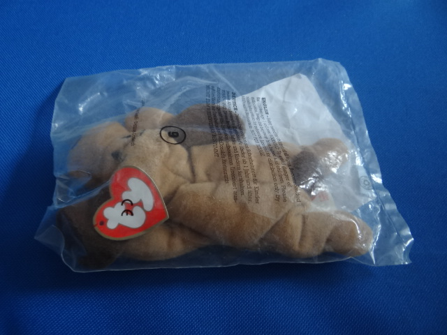 McDonalds TY Teenie Beanie Babies Bones Toy From 1993 New