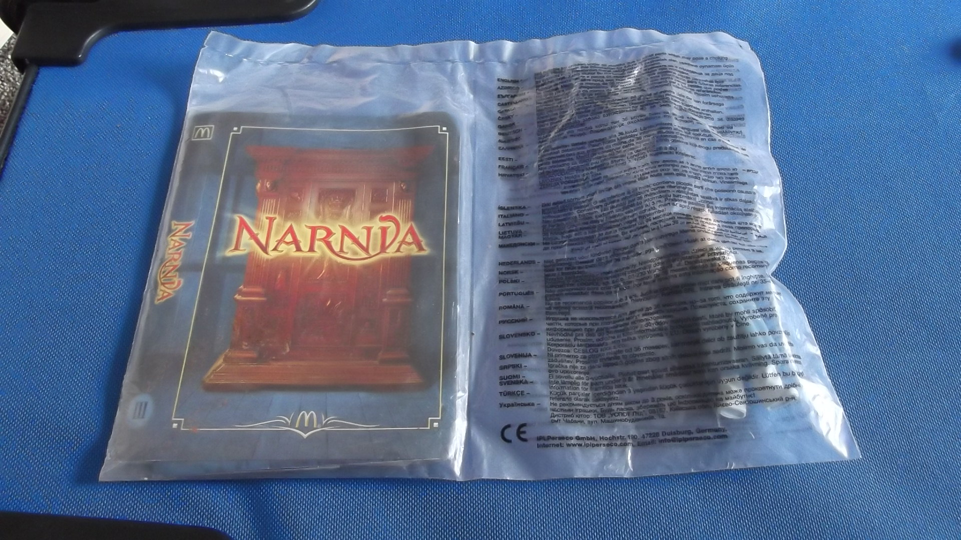 McDonalds Narnia Edmund Toy From 2005 New