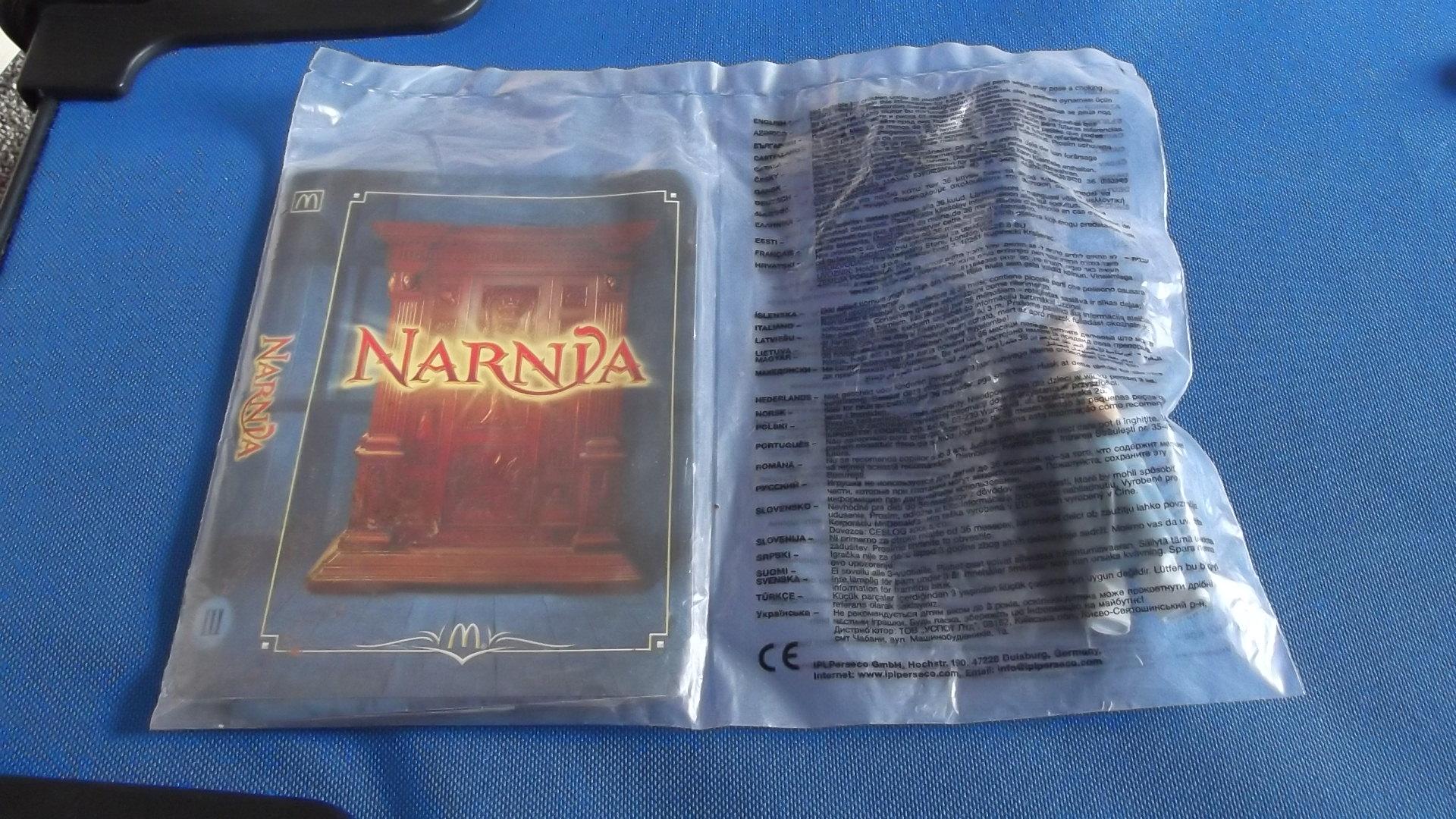 McDonalds Narnia Edmund Toy From 2005 New