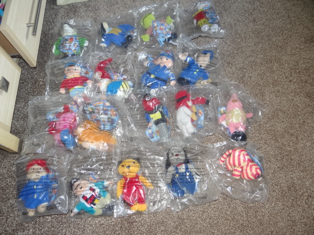McDonalds TV Character Favourites Full Set From 2001 New