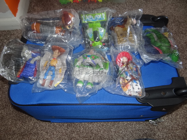 McDonalds Toy Story 2 Full Set From 2000 New