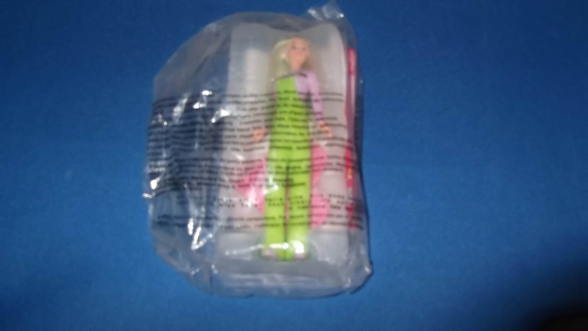 McDonalds Barbie Teen Skipper Toy From 1998 New