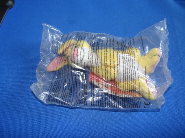 McDonalds The Tigger Movie Rabbit Toy From 2000 New