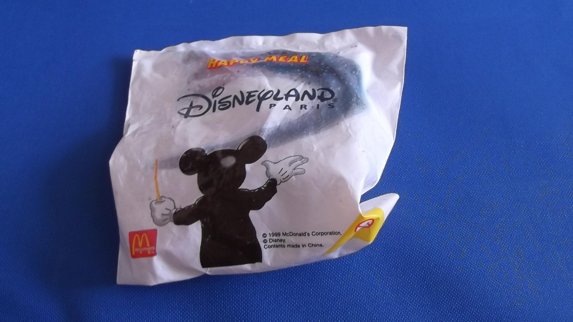 McDonalds Disneyland Paris Train #12 Toy From 1999 New