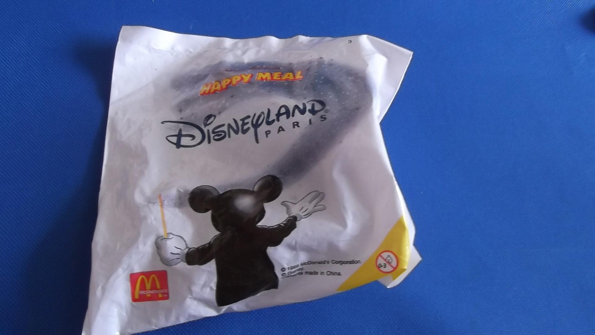 McDonalds Disneyland Paris Train #3 Toy From 1999 New