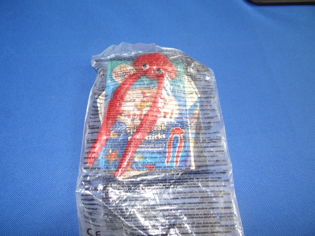 McDonalds Planet Cook Spider Crab Chopsticks Toy From 2009 New