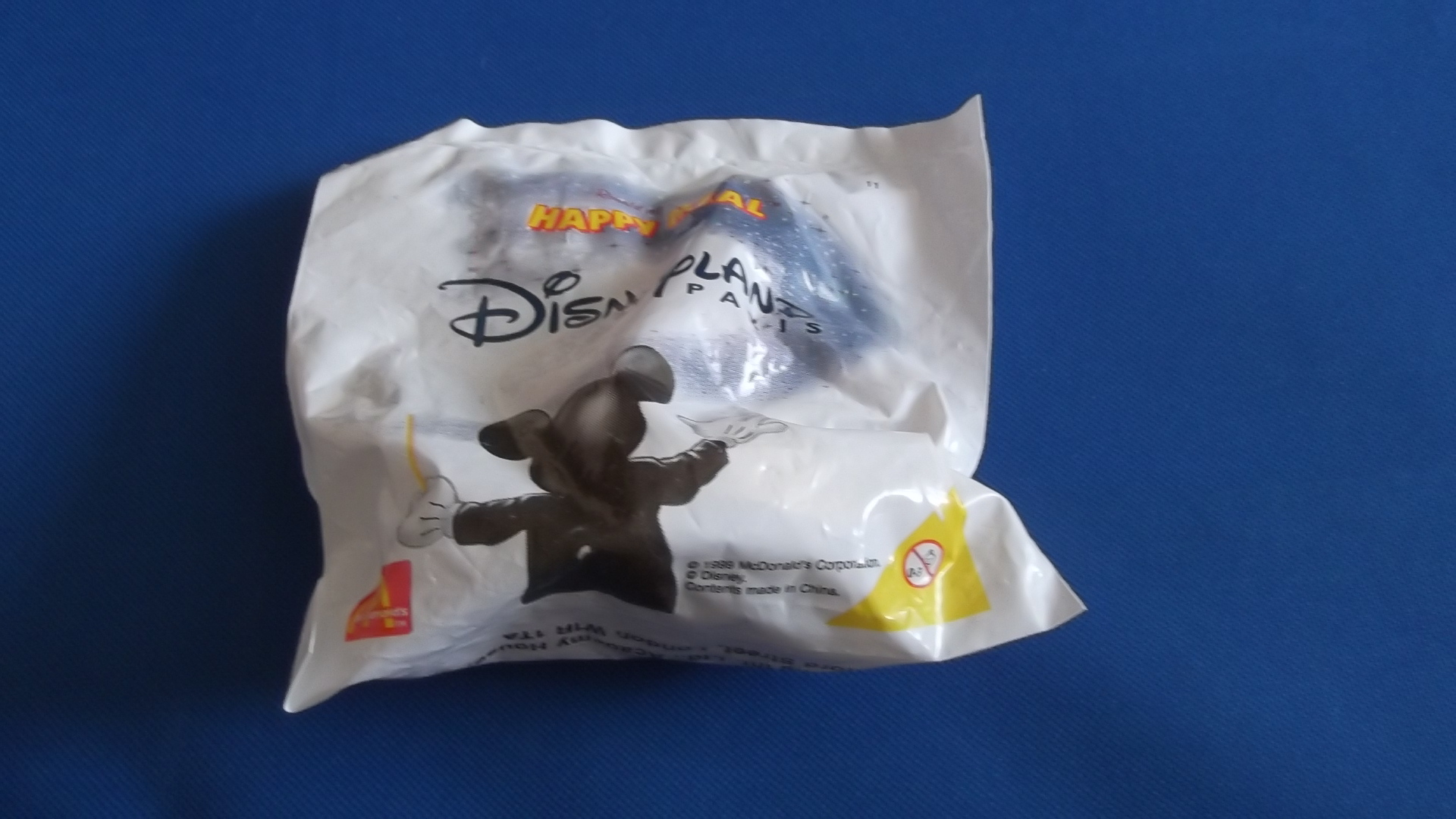 McDonalds Disneyland Paris Train #11 Toy From 1999 New