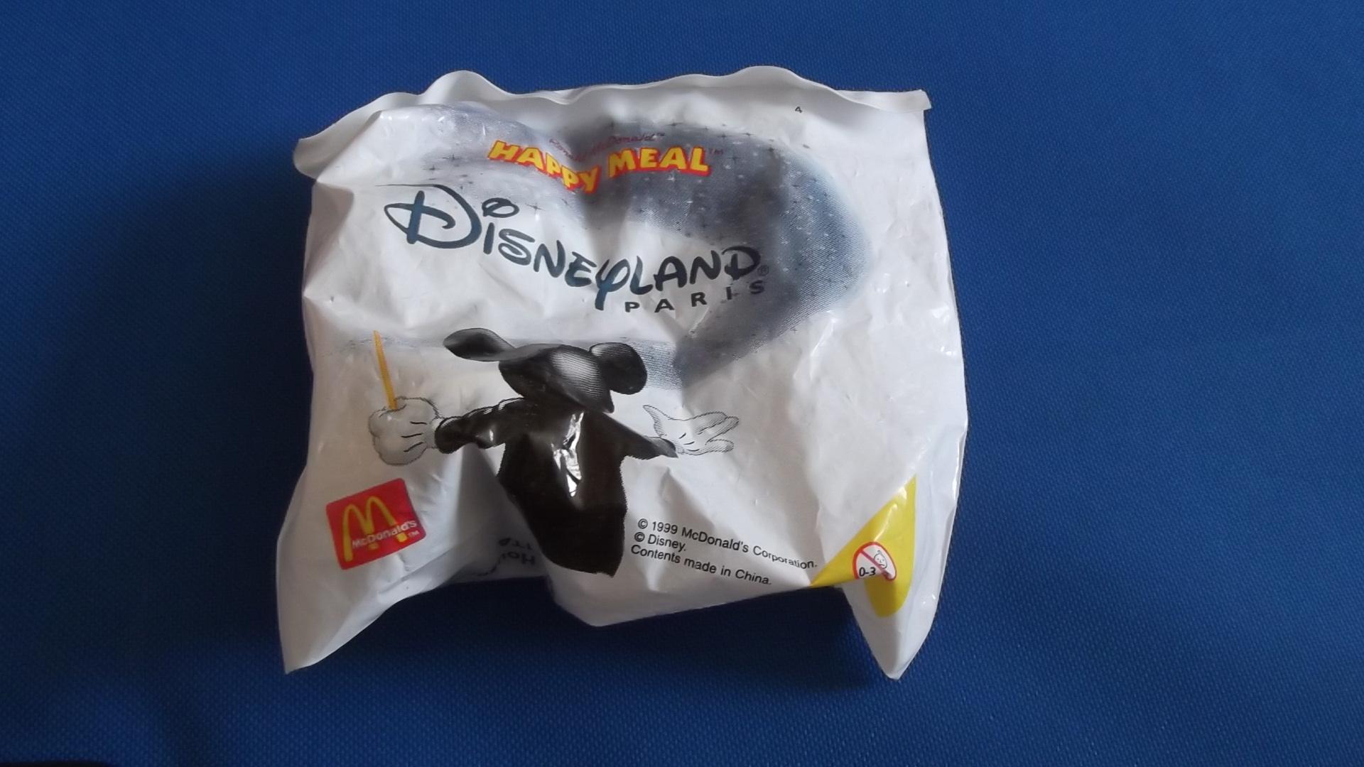 McDonalds Disneyland Paris Train #4 Toy From 1999 New