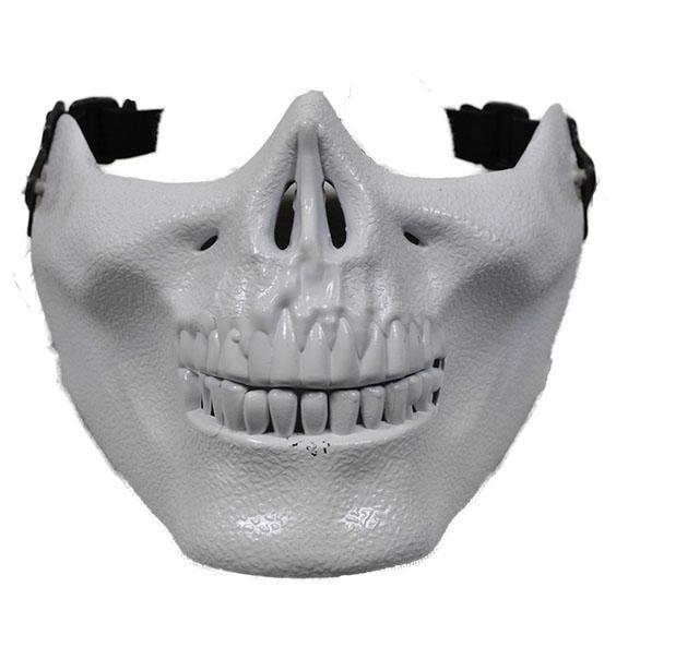 Poizen Industries Skull Mask Bianca