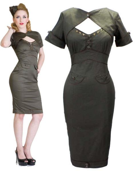 Living Dead Souls Army Dress  (60 EUR)