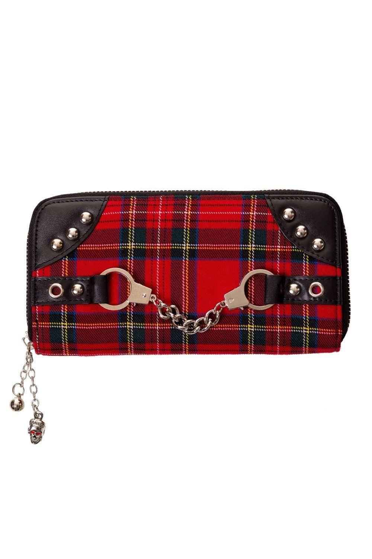 Banned portafoglio scozzese con manette