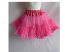 Rockabella mini petticoat Rosa Acceso