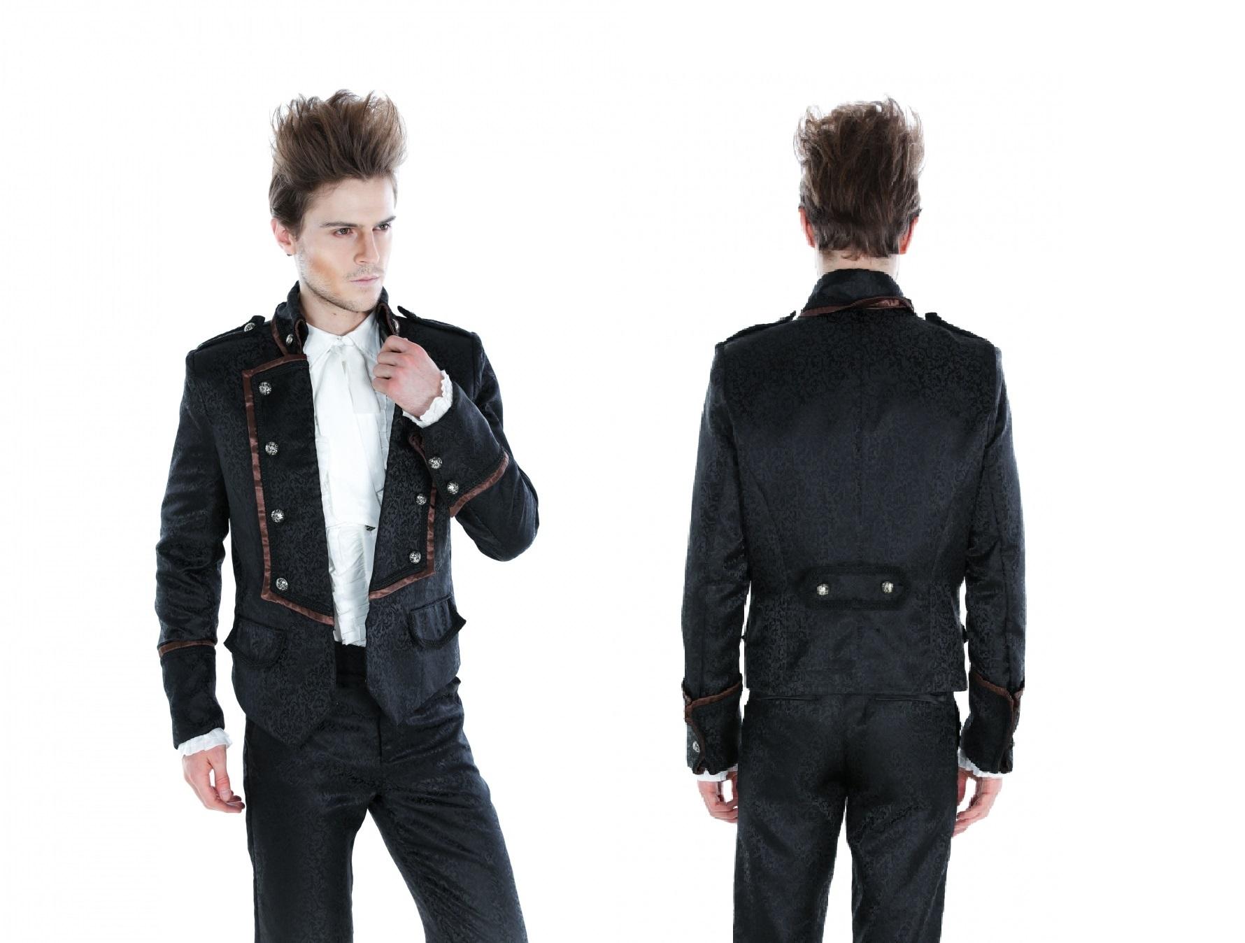 Pentagramme Black Brocade Jacket