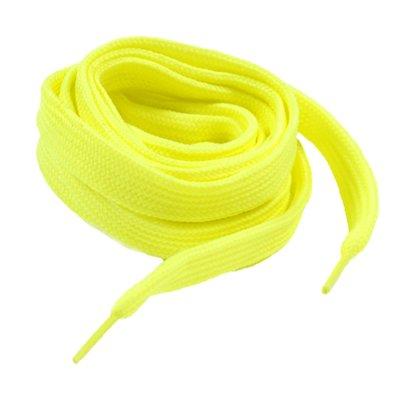 Lacci per scarpe giallo fluo