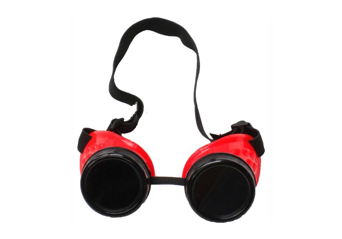 Poizen Industries goggle rosso