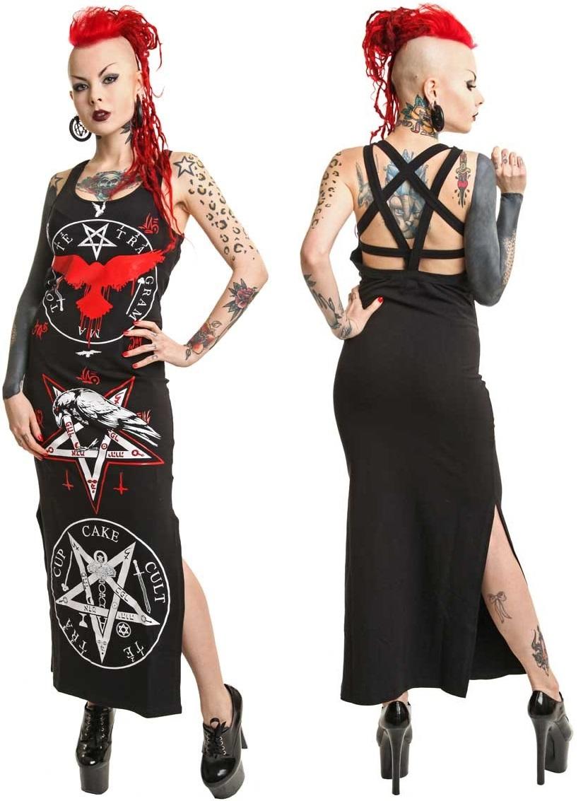 CupcakeCult Pentagramme Maxi Dress (55 EUR)