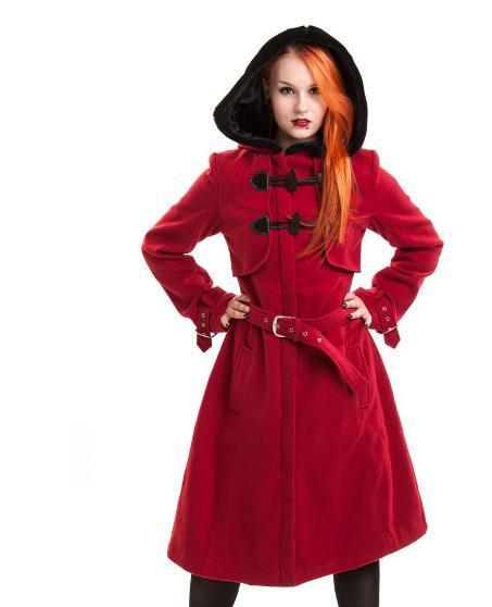 Vixxsin Cappotto Rosso Moana