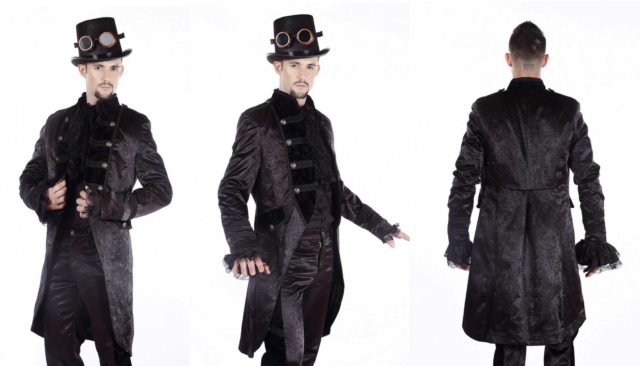 Pentagramme Victorian/Steampunk Coat