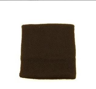 Polsino nero in cotone