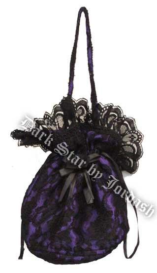 Dark Star Hand Bag Purple